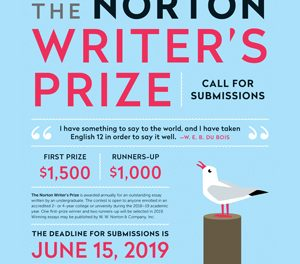 Call for Entries: Norton Writer's Prize