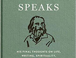 Walt Whitman Speaks edited by Brenda Wineapple