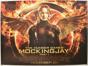 The Hunger Games: Mockingjay posster