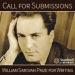 Entries Open for 2022 Wm Saroyan Writing Prize